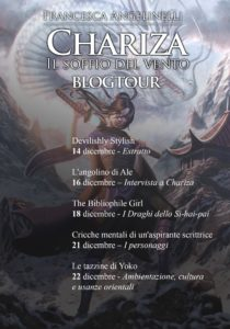 I vincitori del blogtour di Chariza